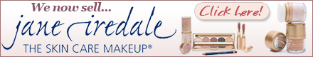 We now sell jane iredale - the skin care makeup!